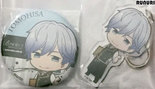 [Pre-owned] B-PROJECT -Kodou Ambitious- Badge and Acrylic Keychain (Tomohisa Kitakado)