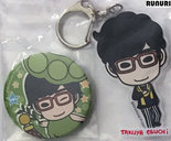 [Pre-owned] Badge and Acrylic Keychain (Takuya Eguchi)
