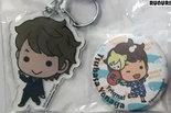Badge and Acrylic Keychain (Tsubasa Yonaga) [Pre-owned]