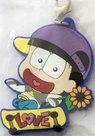 [Pre-owned] Osomatsu-san Rubber Mascot (Jyushimatsu) with clasp