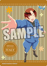 Hetalia The World Twinkle B5 Clear Sheet (Italy)