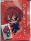 [Pre-owned] B-PROJECT -Kodou Ambitious- A5 Clear File and Rubber Strap (Momotaro Onzai)