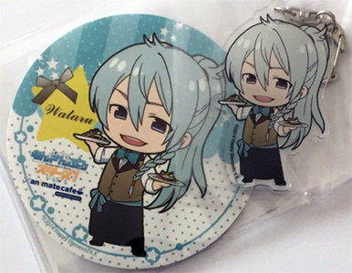 Ensemble Stars! Acrylic Keychain & Coaster (Wataru Hibiki) [Pre-owned]